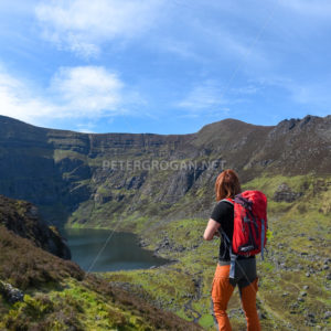 Coumshingaun Loop Walk, Comeragh Mountains 1 - Peter Grogan Stock Photography