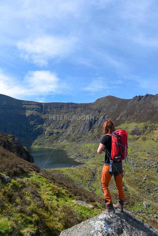 Coumshingaun Loop Walk, Comeragh Mountains 1 - Peter Grogan Stock Photography