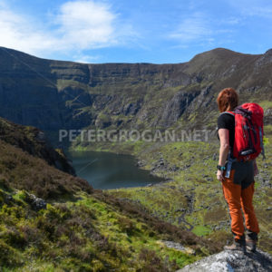 Coumshingaun Loop Walk, Comeragh Mountains 2 - Peter Grogan Stock Photography