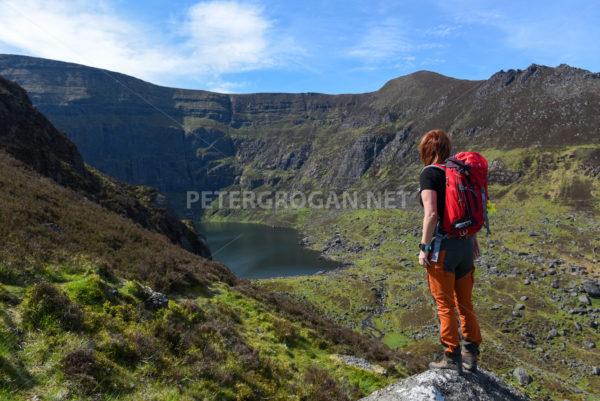 Coumshingaun Loop Walk, Comeragh Mountains 2 - Peter Grogan Stock Photography