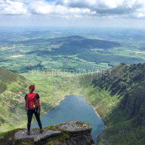 Coumshingaun Loop Walk, Comeragh Mountains 3 - Peter Grogan Stock Photography