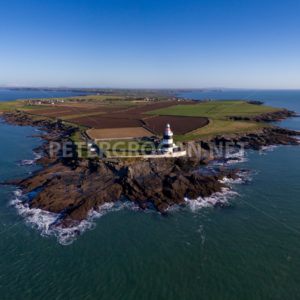 Hook Head Aerial View, Co. Wexford - Peter Grogan Stock Photography