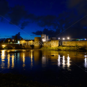 King John's Castle, Limerick @ Sunrise - Peter Grogan Stock Photography