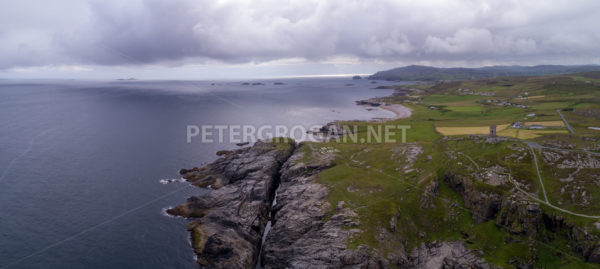 Malin Head, Donegal Aerial 1 - Peter Grogan Stock Photography