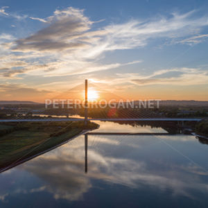 Thomas Francis Meagher Bridge Waterford - Peter Grogan Stock Photography